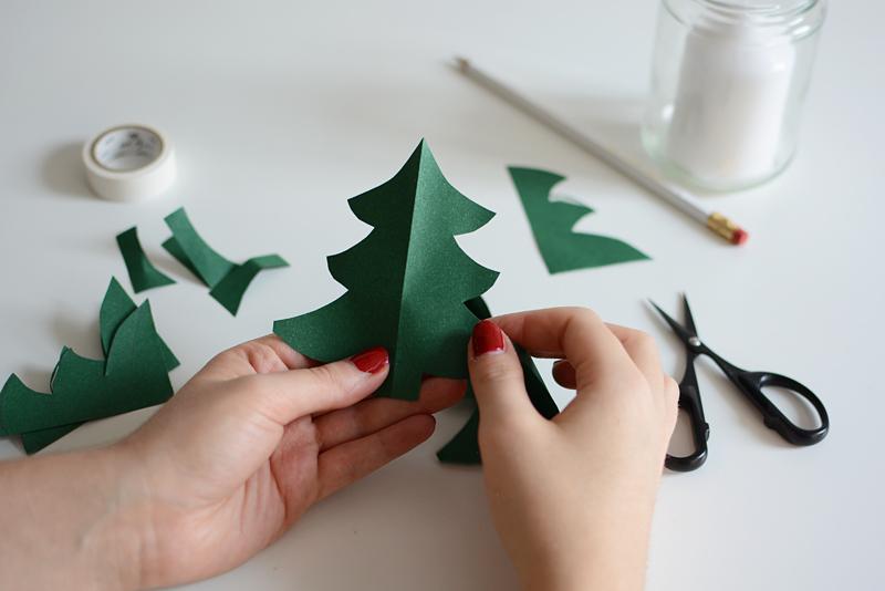 Windlicht Tannenbaum |we love handmade