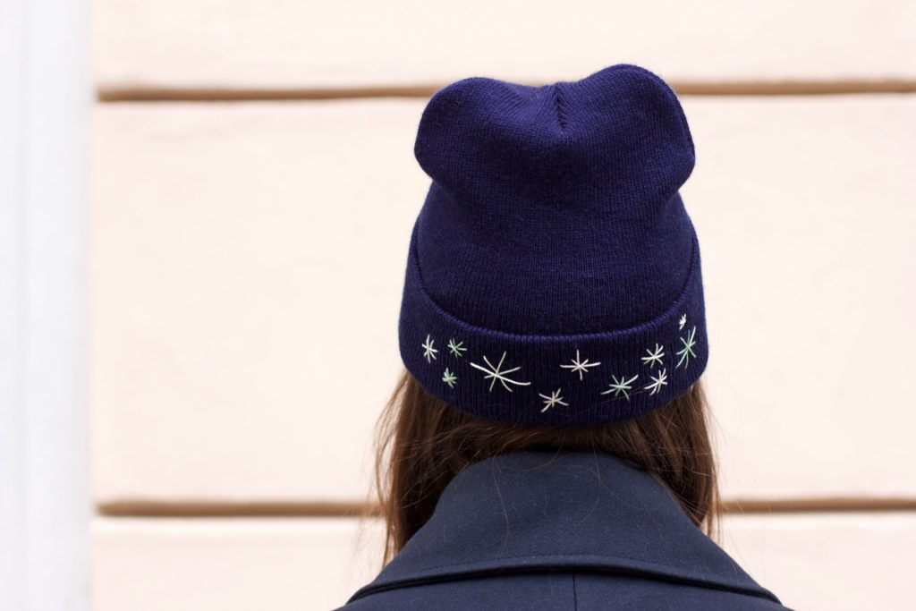 Beanie individualisieren | we love handmade