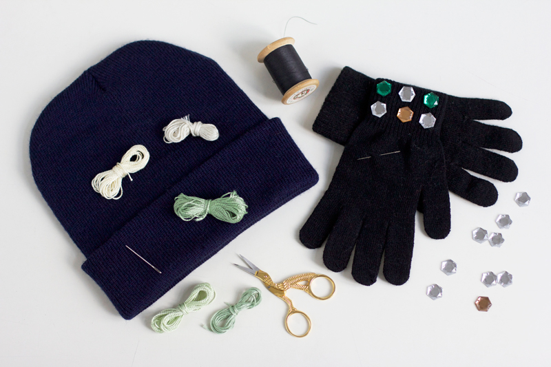 Handschuhe & Beanie individualisieren | we love handmade