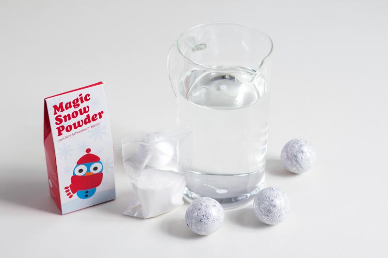 DIY: Let it snow – Magic Snow Powder | we love handmade
