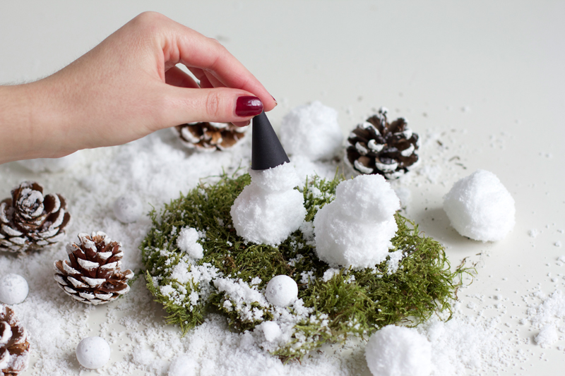 DIY: Schneemänner | we love handmade