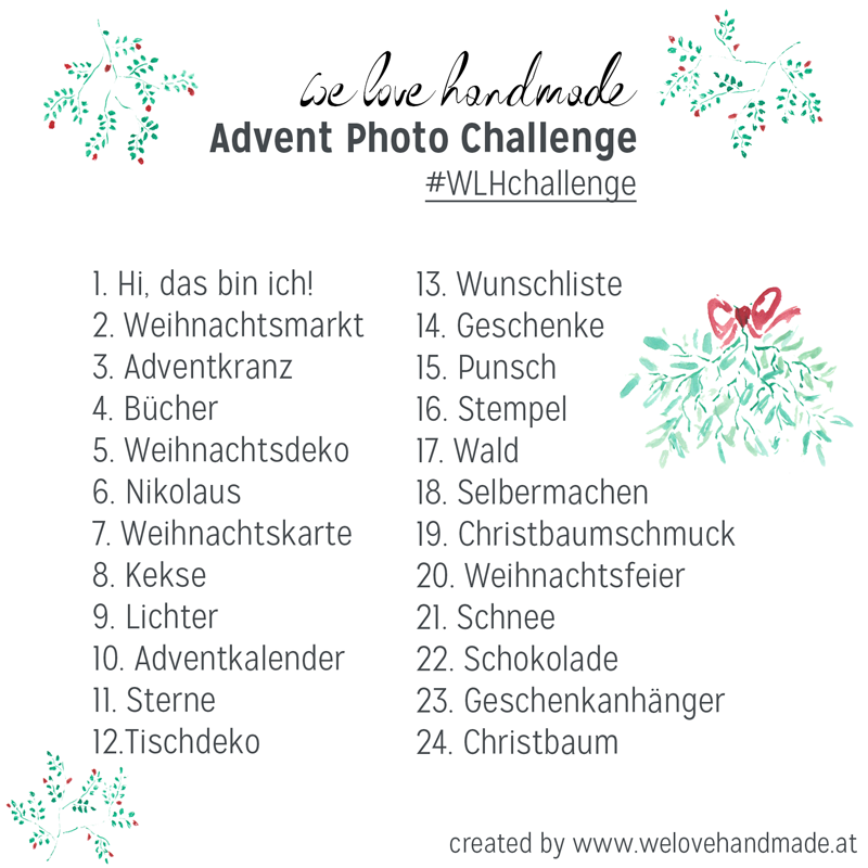 we love handmade: Instagram Challenge