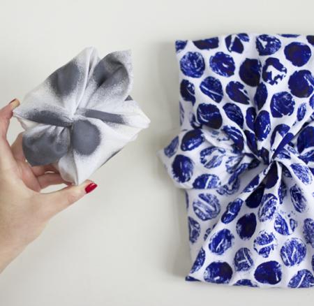 DIY: Furoshiki – Geschenke mit Stoff verpacken