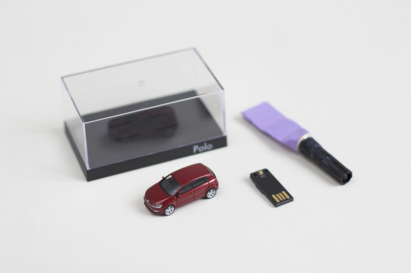 Material für VW USB-Stick | we love handmade