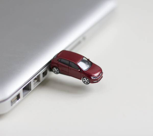 DIY: Volkswagen USB-Stick | we love handmade