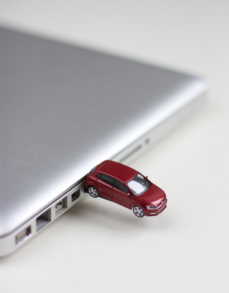 DIY: Volkswagen USB-Stick | we love handmade