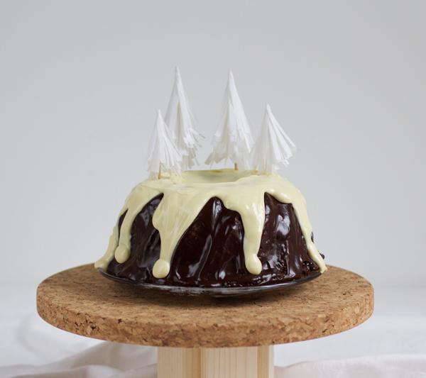DIY: Tannenbaum Cake Topper | we love handmade