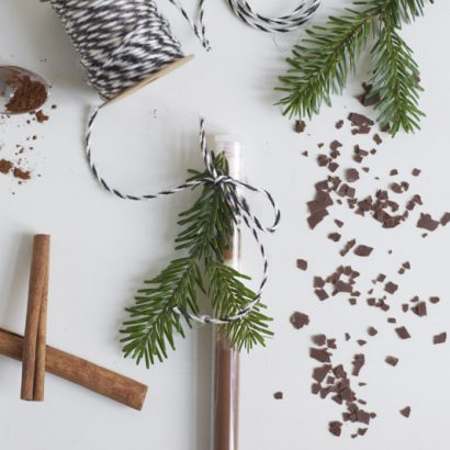 Gastgeschenk: Trinkschokolade DIY | we love handmade