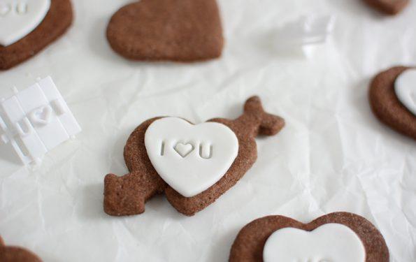 Valentinstagskekse: Rezept | we love handmade