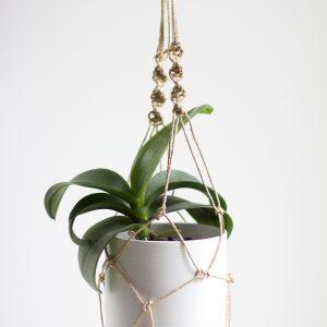 DIY: Blumenampel mit Makramee |we love handmade