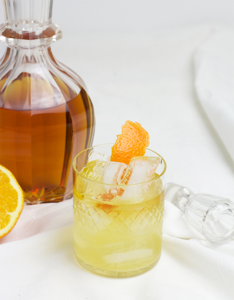 Drink: Chai infused Wintercocktail mit Salbei und Bourbon | we love handmade