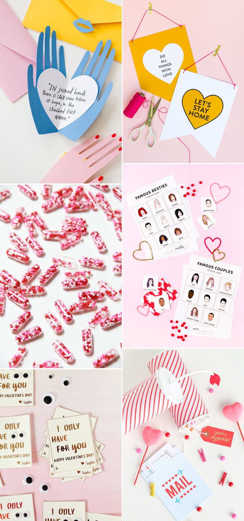 Valentinstag DIYS | we love handmade