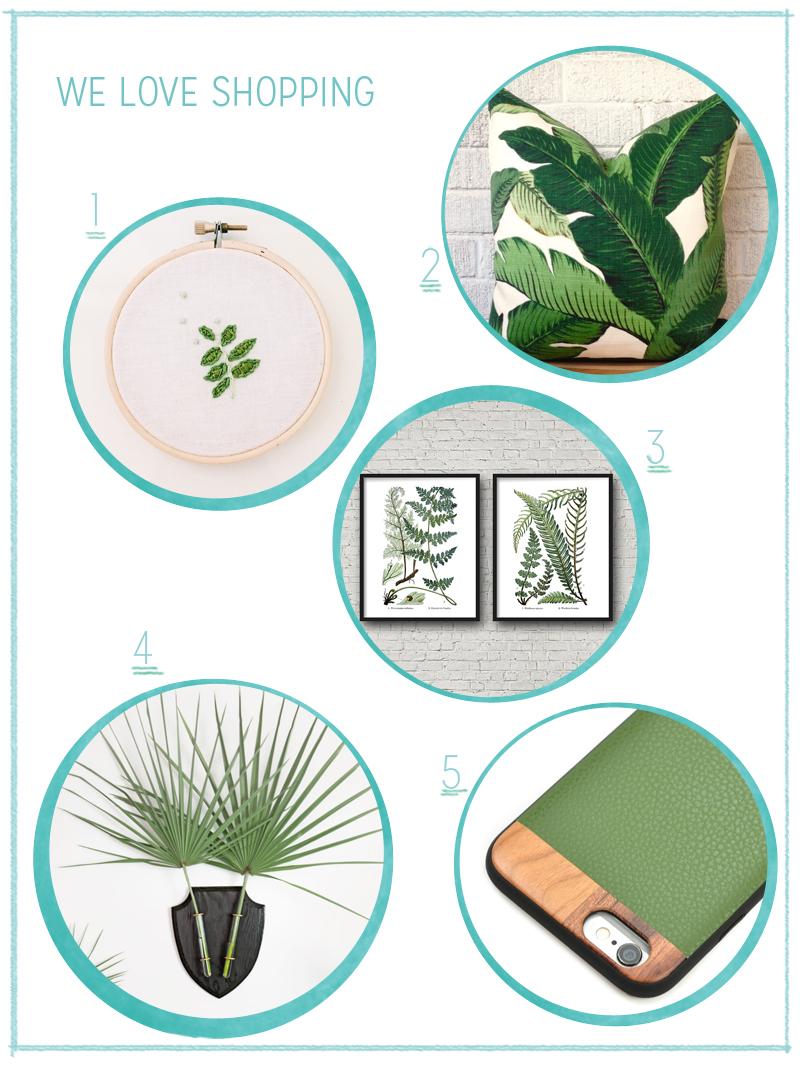 we love Shopping: Greenery | we love handmade