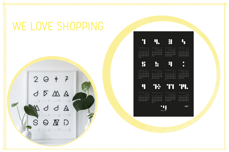 we love shopping: Wandkalender | we love handmade