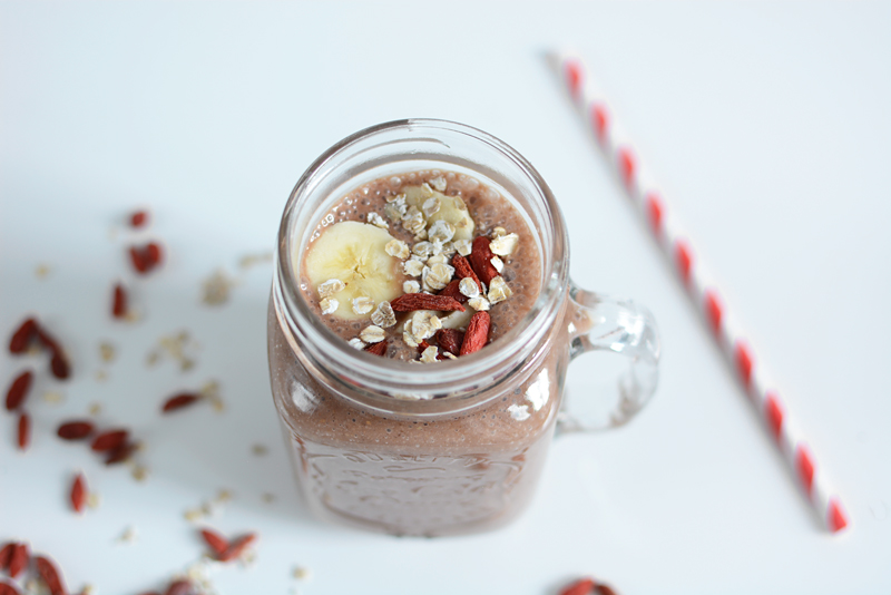 Breakfast Smoothie: Rezept | we love handmade