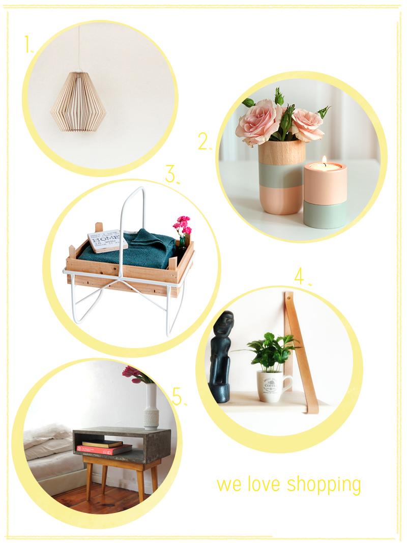 Wohnaccessoires aus Holz | we love handmade