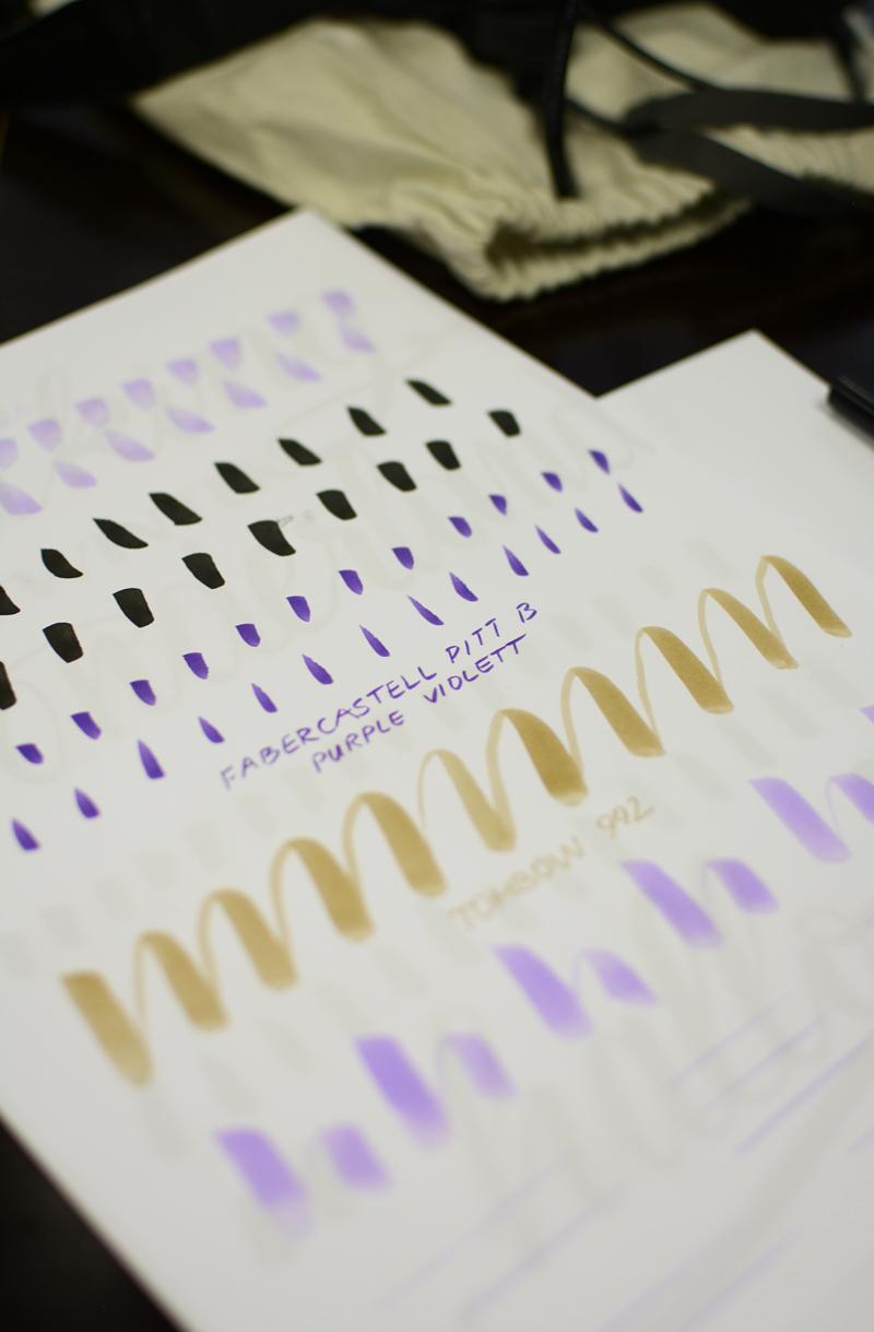 Brush Lettering: Übungen   we love handmade