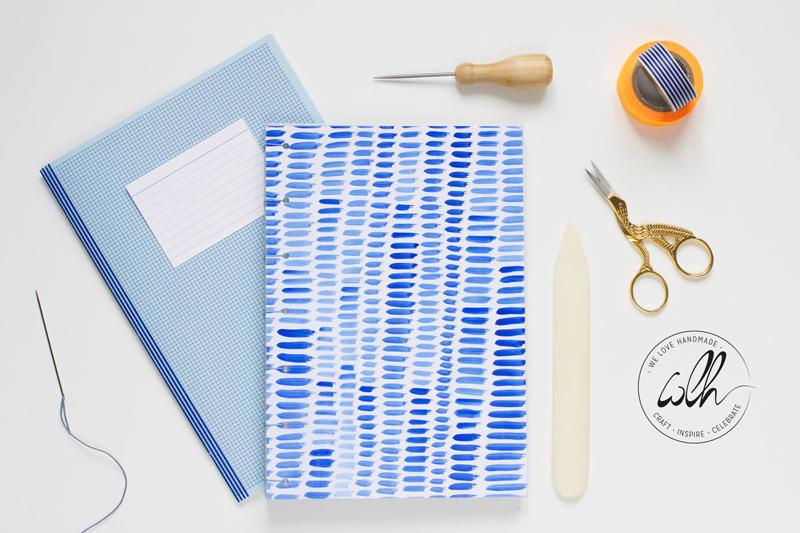 Buchbinde Workshop | we love handmade