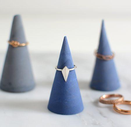 DIY: Ringhalter aus Zement