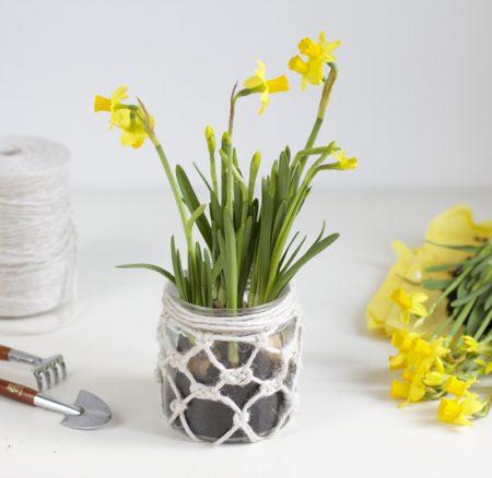 DIY: Makramee-Vase