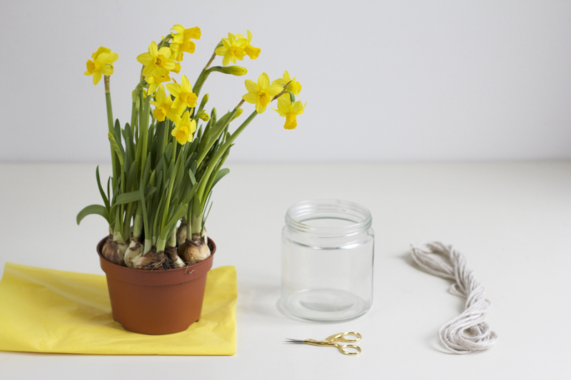 DIY: Material für Makramee-Vase | we love handmade
