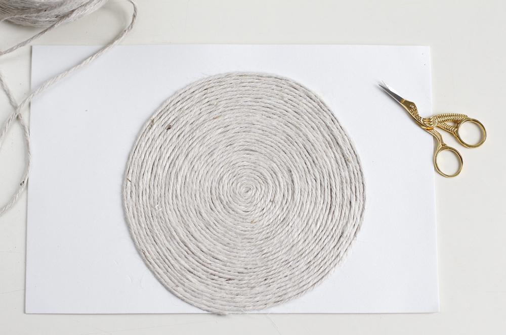 DIY: Tischuntersetzer rund |we love handmade