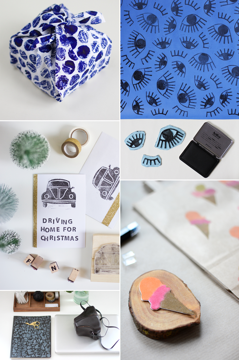 Stempel-DIYs | we love handmade