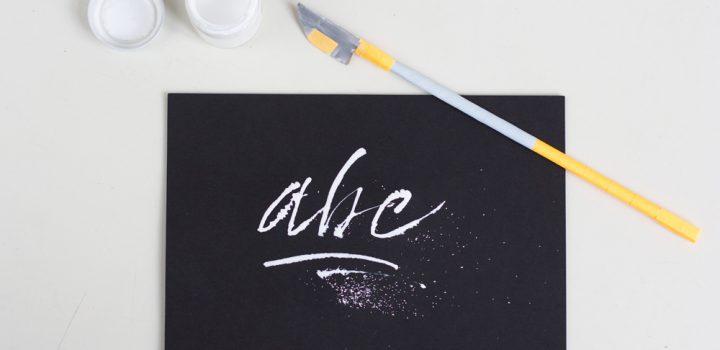 DIY: Selbstgemachter Cola Pen