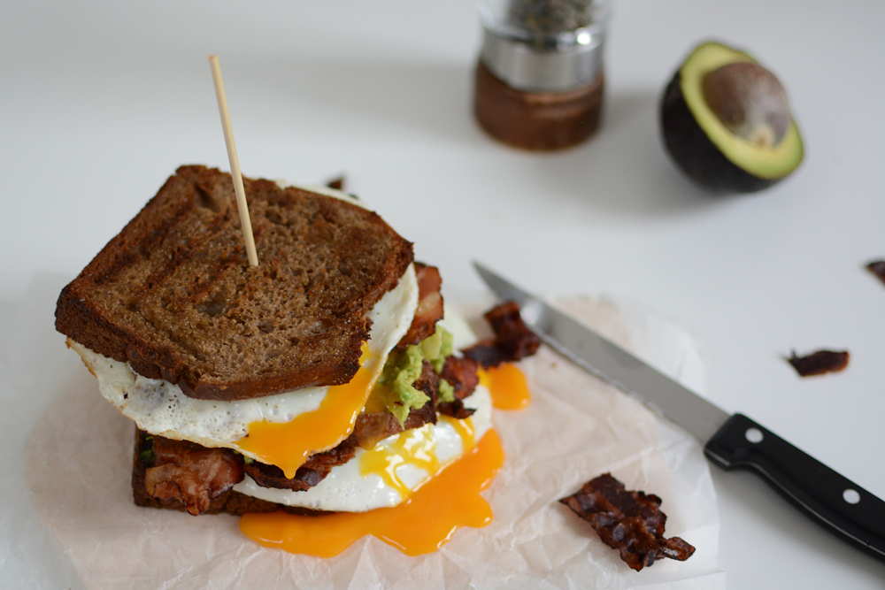 Breakfast Sandwich Food | we love handmade