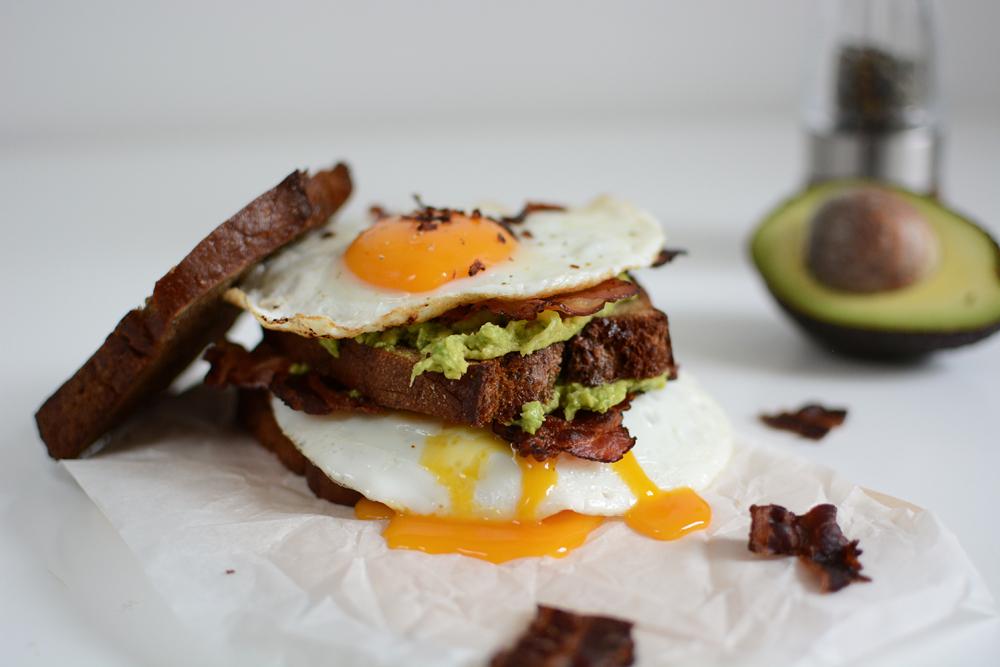 Breakfast Sandwich Rezept   we love handmade
