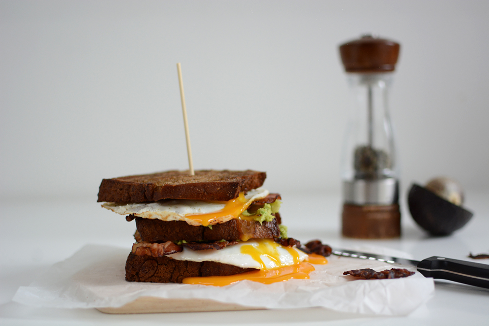 Breakfast Sandwich | we love handmade