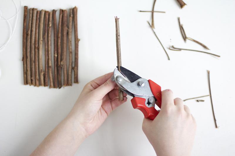 DIY: Untersetzer aus Ästen | we love handmade