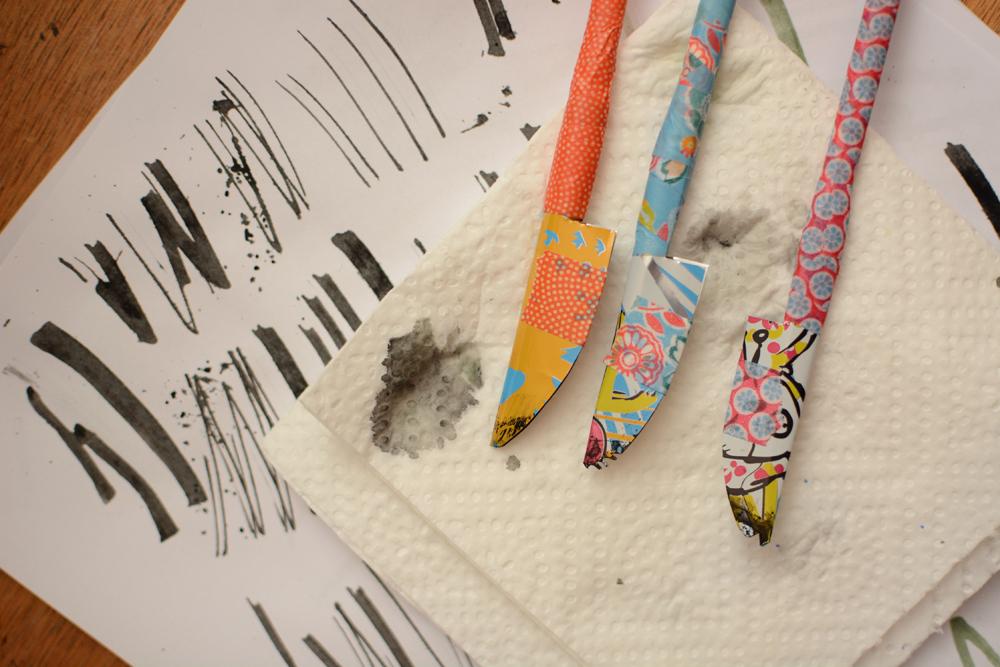 Experimentelle Kalligraphie |we love handmade