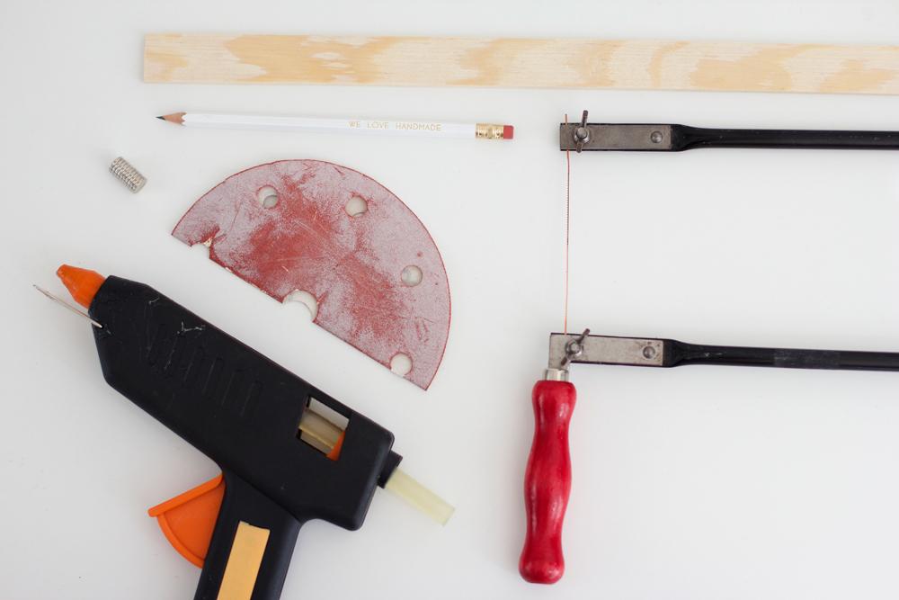 DIY: Material für Bilderleiste | we love handmade