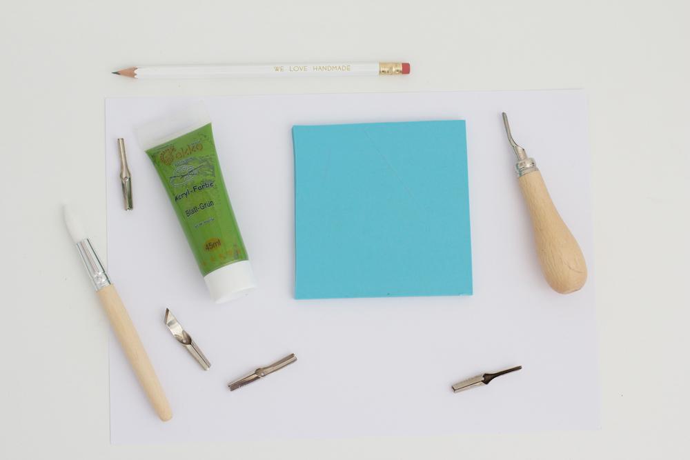 Das braucht man um Stempel selber zu machen | we love handmade