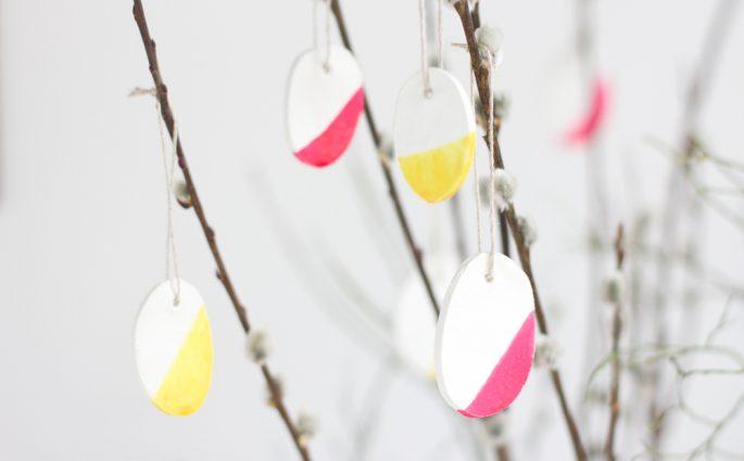 DIY: Ton-Ostereier |we love handmade
