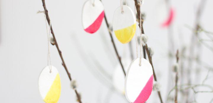 DIY: Ostereier aus Modelliermasse