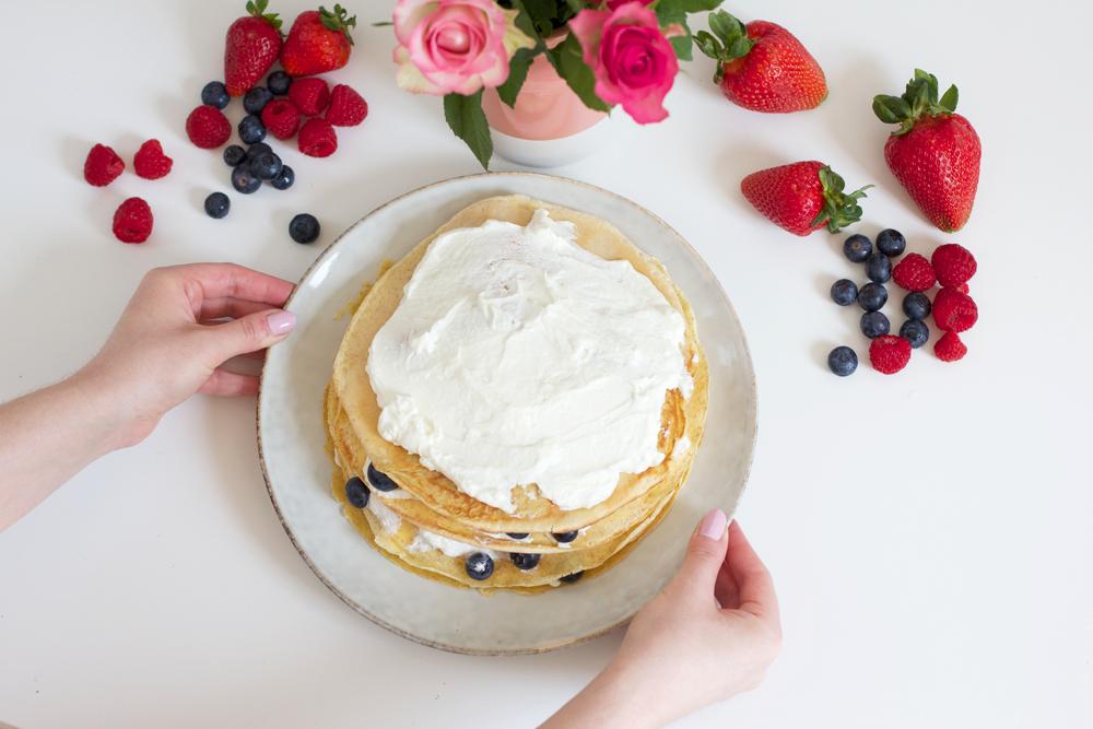 Palatschinken-Torte selber machen | we love handmade