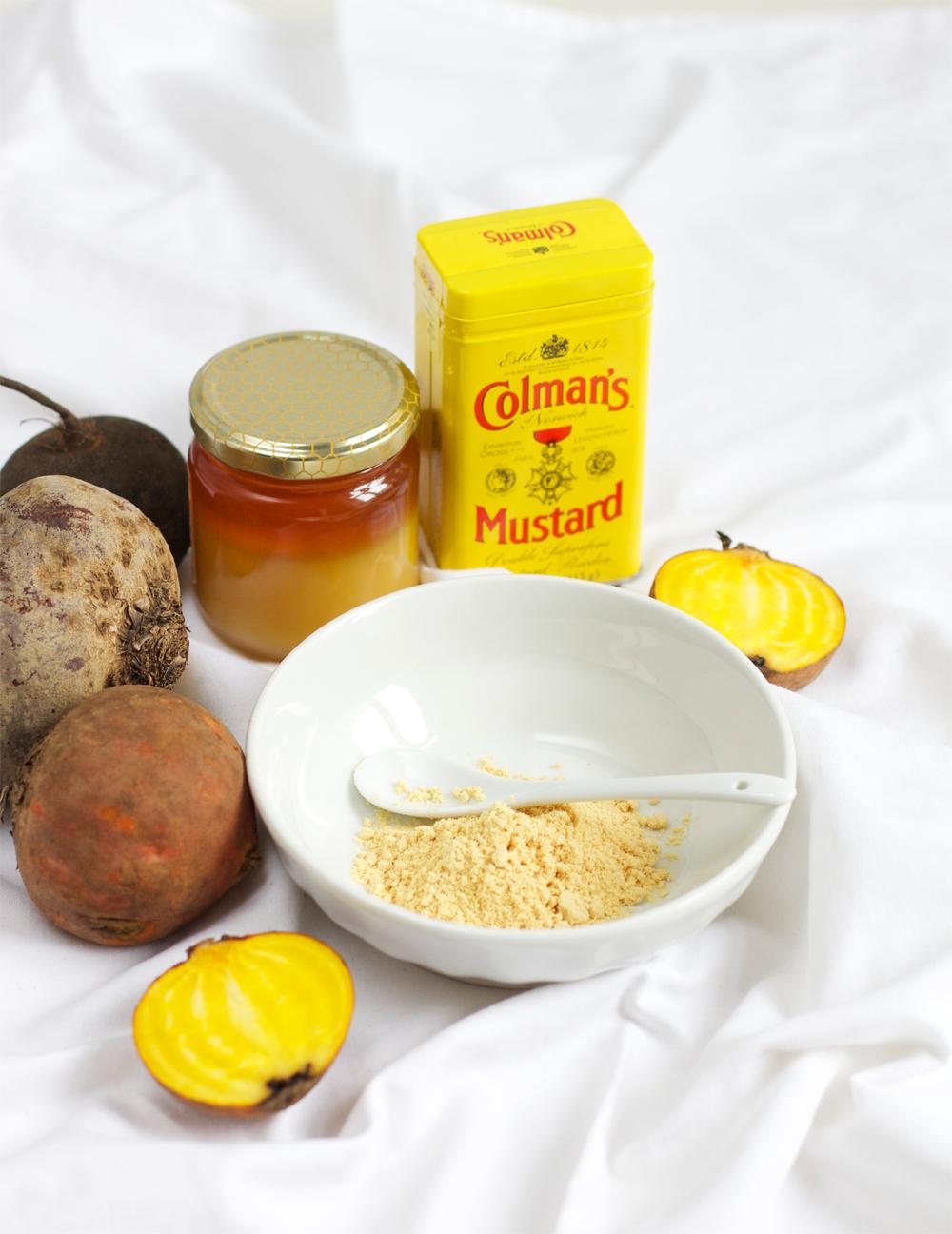 Rezept für bunten Rübensalat mit Honig-Senf-Dressing | we love handmade