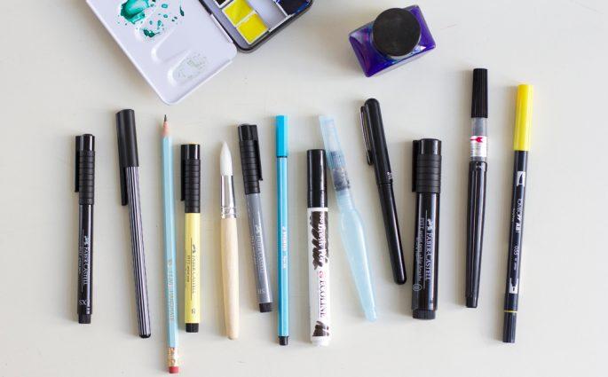 we love Shopping: Brush Pens |we love handmade