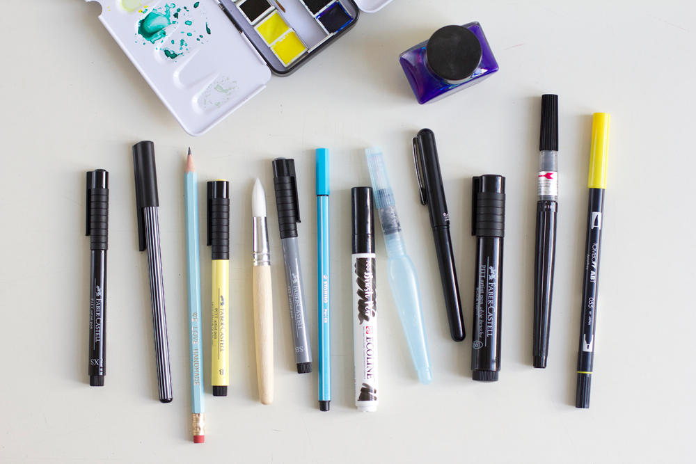 we love Shopping: Brush Pens | we love handmade