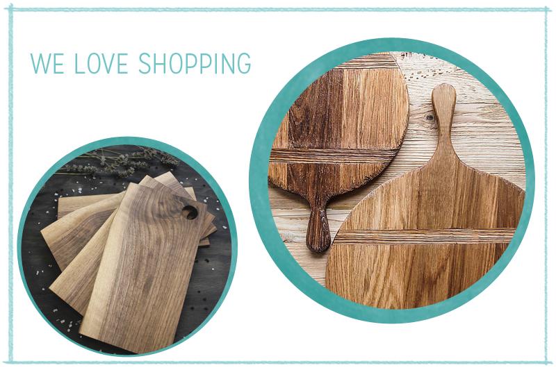Handgemachte Schneidbretter aus Holz | we love handmade