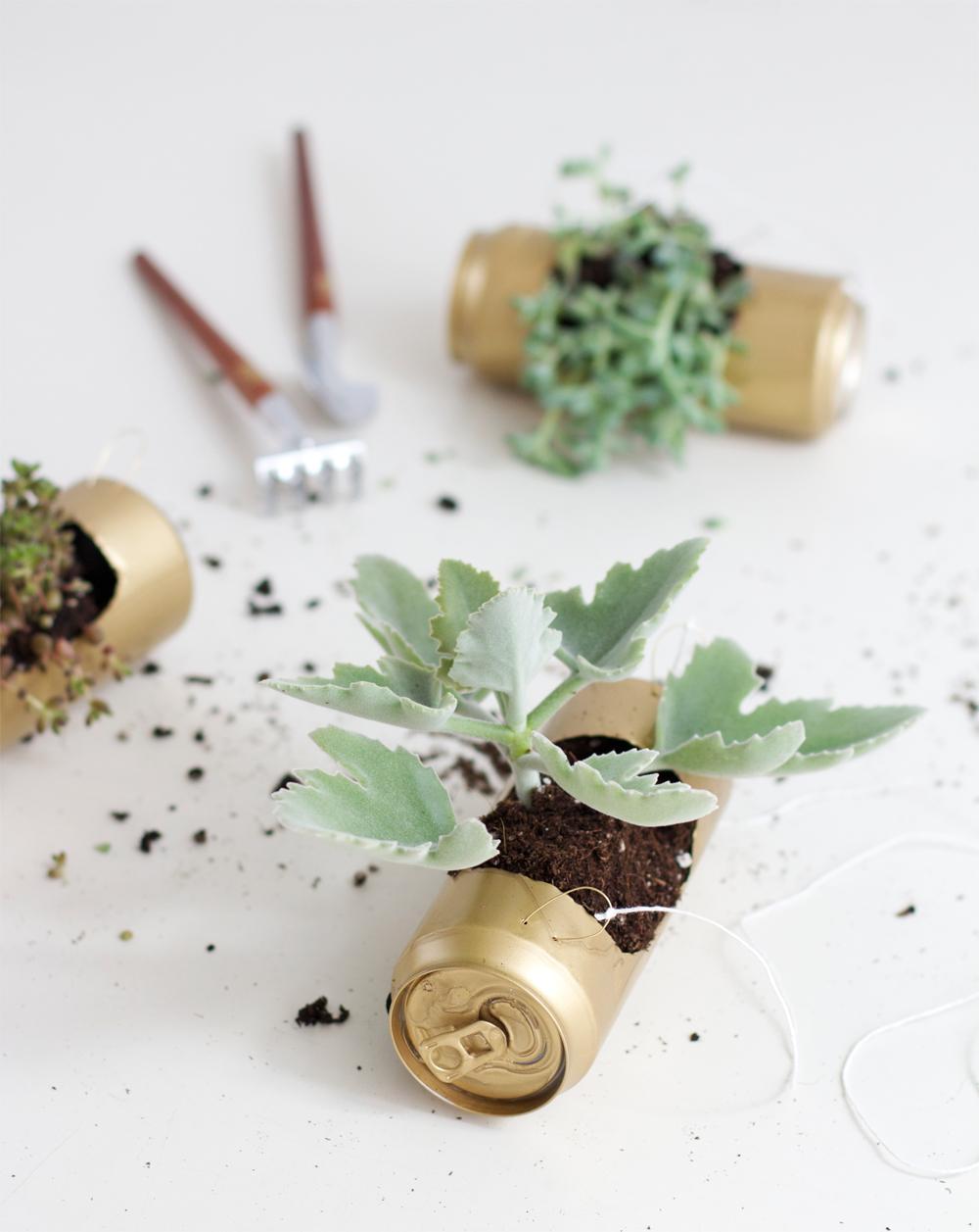 Hängegarten aus Dosen |we love handmade
