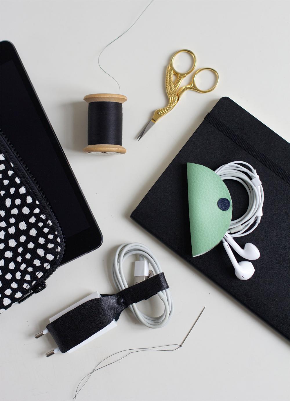 DIY: Leder-Accessoires |we love handmade