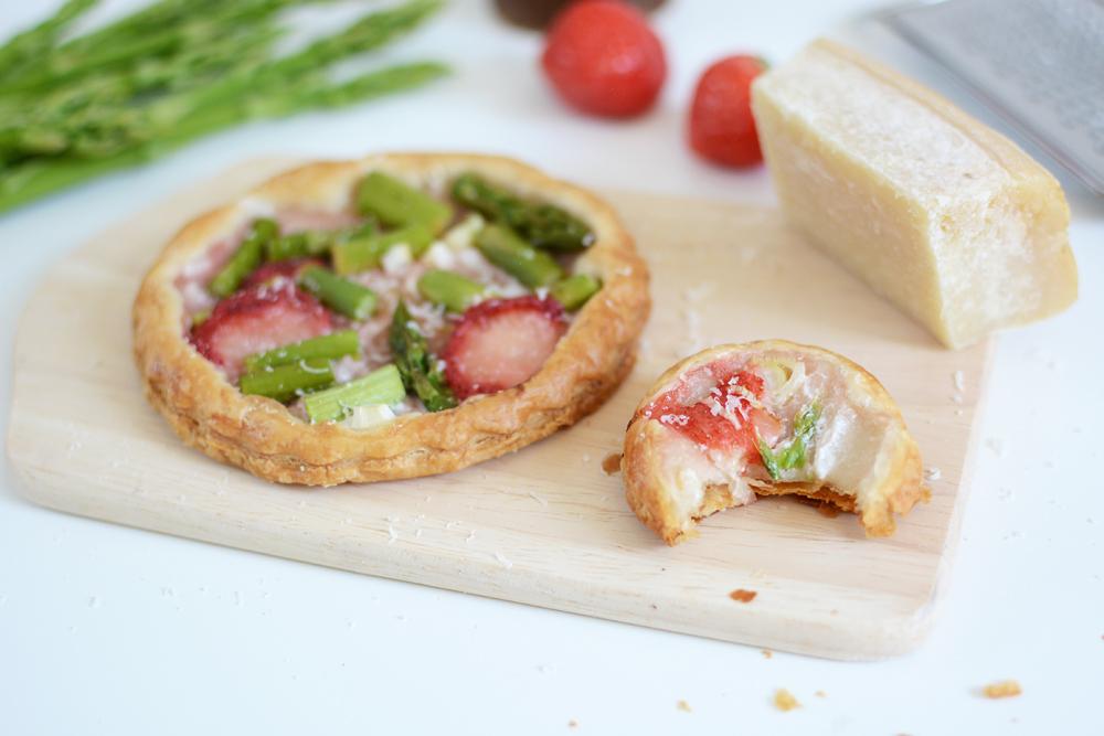 Erdbeer-Spargel-Tartes: Rezept | we love handmade