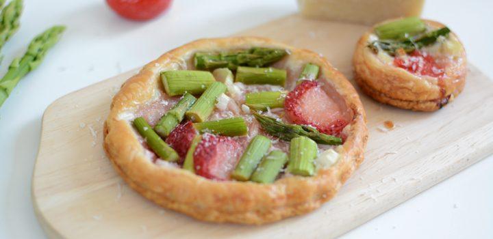 Food: Erdbeer-Spargel-Tartes
