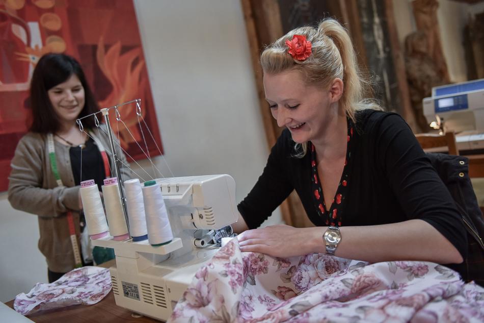 Massschneiderin Eva Maria Handl-Lager beim CraftCamp 2017 |we love handmade
