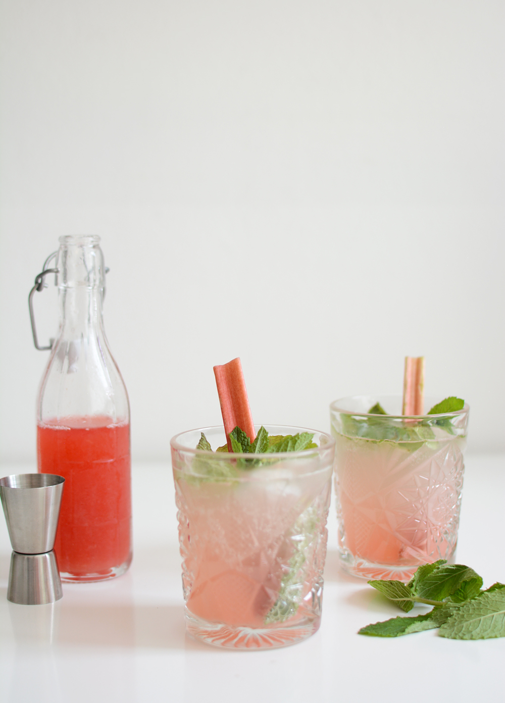 Rhabarber-Mojito Drink | we love handmade