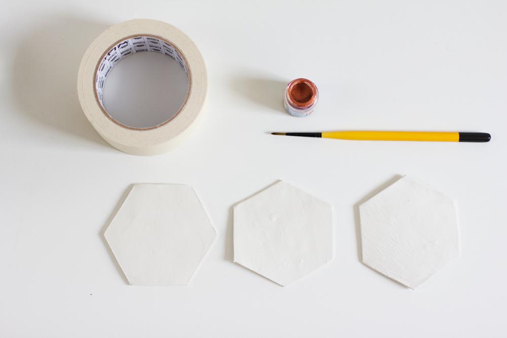 Hexagon-Untersetzer | we love handmade