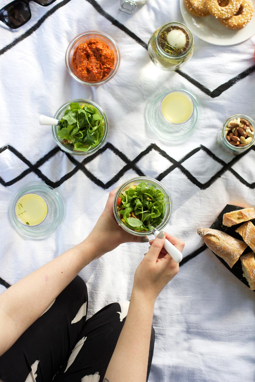 Orientalischer Linsensalat |we love handmade